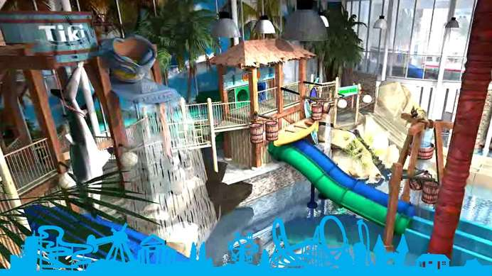 Kids waterpark Playa