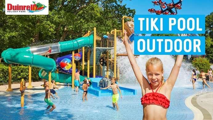 New: Tiki Pool outdoor